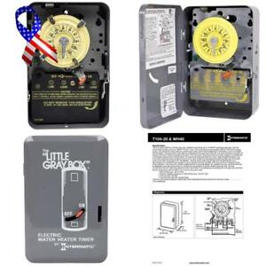 Intermatic Wh40 Timer 7 75 X 5 X 3 Inches Gray