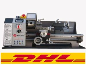 Wm210v g Metal Motor Brushless Lathe Machine Stepless Variable Speed 110 220v