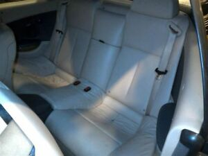 Rear Seat Beige Leather Convertible Fits 05 Bmw 645ci 557907