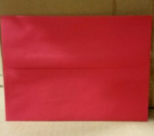 A 6 Holiday Red Envelopes 4 3 4 X 6 1 2 60 Box Of 1000