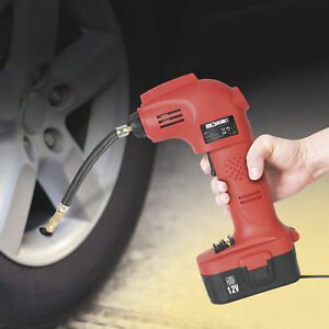 Portable Car Vehicle Sports Ball Tire Inflator Air Compressor Pump 116 Psi 12v