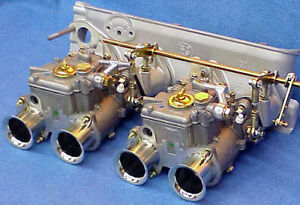 Bmw 2002 Dual 40 Dcoe Weber Carburetor Kit Genuine Made In Spain Dcoe Carbs