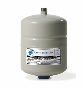 Falcon Stainless Expt 2 Thermal Potable Water Expansion Tank 2 1 Gal With But
