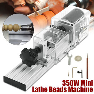 350w Mini Lathe Beads Machine Wood Working Diy Lathe Polishing Drill Hot