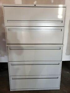 Hon 800 Series Five drawer Lateral File 895ll