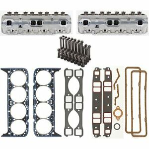 Dart 127121k Small Block Chevy Shp Cylinder Head Kit 180cc Intake Ports 64cc Com
