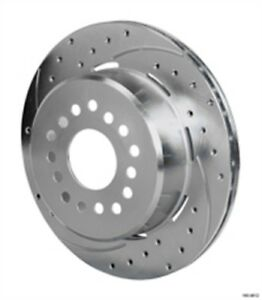 Wilwood 160 11374 Srp Drilled Performance Rotor And Hat Diameter 11 00 Width 0