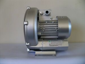 Regenerative Blower 1 1hp 82cfm 56 h2o Press 220 480v 3ph Goorui 001 34 1r3