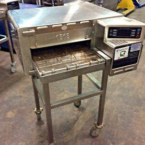 Turbochef Hhc1618 Rapid Cook Electric Conveyor Ventless Oven With Stand