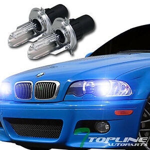 10000k Hid Bi xenon H4 hb2 9003 High low Beam Head Light Bulbs Conversion Kit T1