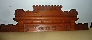 Antique Eastlake Victorian Pediment For Dresser