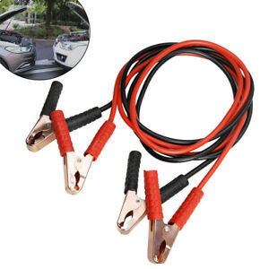 Comercial Heavy Duty 7 Ft 2 Gauge Booster Cable Cables Emergency Power Jumper