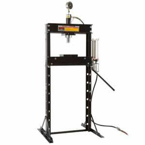 20 Ton Air Hydraulic Shop Press Garage Mechanic Floor Press