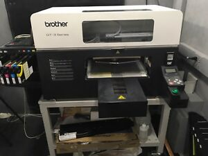 Brother Gt 361 Direct To Garment Printer cmyk 2 White Print Heads