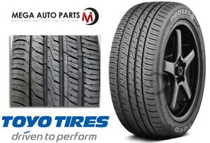 1 New Toyo Proxes 4 Plus 225 55r17 95w Ultra High Performance All Season Tires