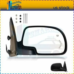 For 2003 2007 Gmc Chevy Side View Mirror Power Heated Signal Passenger Right Rh