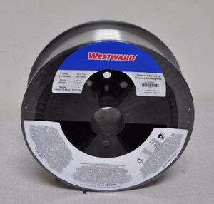 Westward 30 Lb Stainless Steel Spool Mig Welding Wire 0 035 D Er308l Aws Class