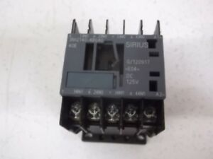 Sirius 3rh2140 4bg40 Contactor Relay as Pictured New No Box