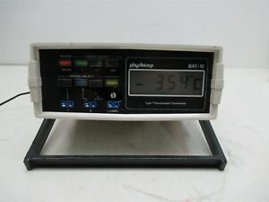 Physitemp Bat 10 Type T Thermocouple Thermometer Wide Range Unit