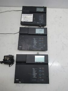Lot 3 Thermo Orion 420a Ph Meters Basic Ph mv orp Benchtop Lab W Power Supplies
