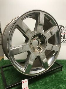 22 Cadillac Escalade Magchloride Stained Chrome Used Wheel Rim Factory Oem 5309