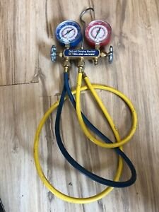 Yellow Jacket Test And Charging Manifold R 404a R 410a R 22