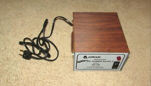 Vintage Antronic Regulated Dc Power Supply Model Ps 104 Unit