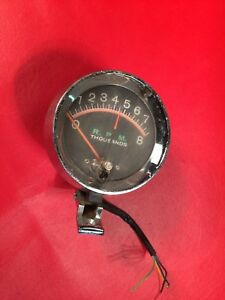 Vintage Tachometer Muscle Car Hot Rod Rat Rod Coupe Chevy Ford Dodge Pickup
