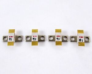 Lot Of 4 Kdi Aerotech Ppr 820 75 3 Power Resistor Conduction Cooled 91 Ohm