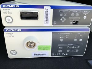 Olympus Otv s190 Processor And Clv s190 Light Source Set