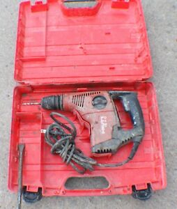 Hilti Te 7c Sds Rotary Construction Electric Hammer Drill In Case With Bit