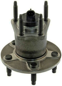 New Rear Wheel Hub And Bearing Assembly 2005 2010 For Pontiac G6 W 5 Bolt Abs