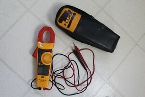 Fluke 334 Clamp Meter W Leads And Case