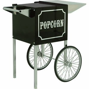 1911 Small Black Portable Popcorn Machine Cart Vintage For 1911 4 oz Model