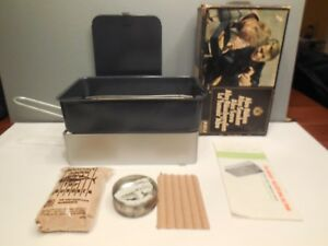 1968 Abu Roken Swedish Smoker Portable Grill Smoker Bbq Unused In Original Box