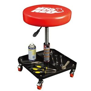 Shop Stool With Wheels Workshop Low Mechanic Creeper Garage Seat Auto On Rolling