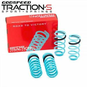 For Mustang Coupe 99 04 Lowering Springs Traction s By Godspeed Ls ts fd 0006 c