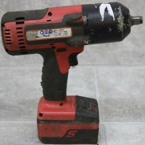 Snap on Ct8850 18 volt 1 2 Drive Lithium Impact Wrench W 1 Battery
