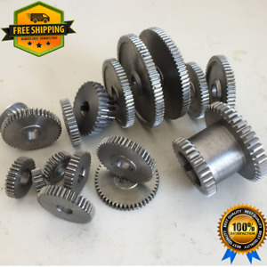 18pcs Set Mini Lathe Gears Metal Cutting Machine Gears Lathe Gears