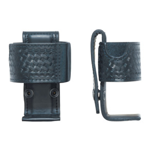 Aker Leather A588 bw xts3000 Black Basketweave Swivel Radio Holder For Xts 3000