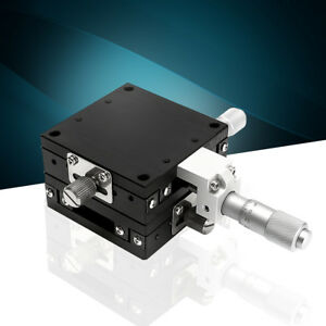 Xy 2 Axis Linear Stage Trimming Platform Bearing Tuning Sliding Table 60x60mm