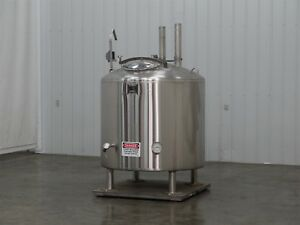 Feldmeier Jacketed Tank 250 Gallon Air Insulated d1187