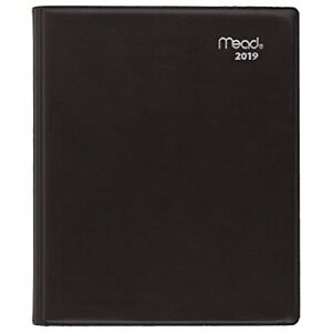Mead 2019 Weekly amp Monthly Planner 7 X 8 1 2 Medium Executive Color