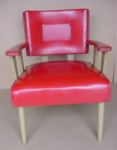 Vintage Mid Century Modern Lounge Accent Chair 1960 S Atomic Age Space Age Chair