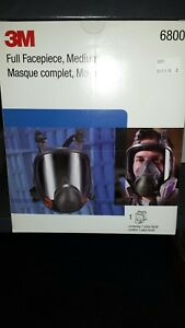 3m 6800 Full Face Respirator Size M Bayonet Connection 4pt