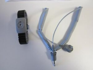 3m Reusable Anti static Wrist Strap 2383 Large Includes 5 Foot Grounding Cord