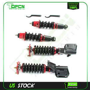 For 2002 06 Acura Rsx 2d 2 0l Full Coilover Struts Shocks Suspension Kit