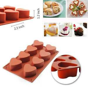 Non-Stick Round Silicone Cake Mold Pan Muffin Chocolate Baking Mould Bakeware