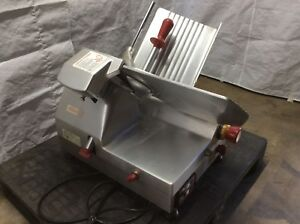 Fleetwood Commercial Gravity Feed Automatic Meat Slicer Cx Matic 300n