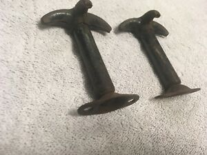 Willys Jeep Hood Latches Rusty Patina Military